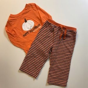 🎃Old Navy🎃2pc long sleeve & pants Size 12-18 mon